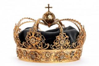 Perampok gondol dua mahkota kerajaan Swedia