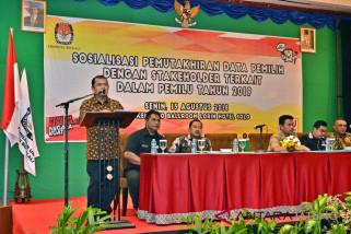 KPU Boyolali Gelar Mutarlih Persiapan Pemilu 2019