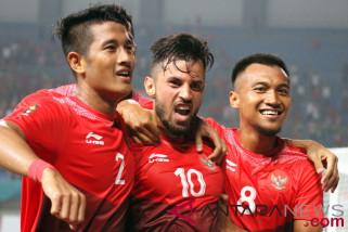Timnas U-23 Indonesia optimistis kalahkan Palestina