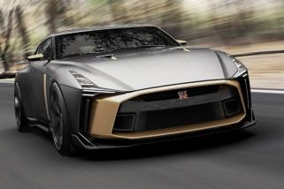 Nissan GT-R50 Italdesign dijual Rp17,5 miliar
