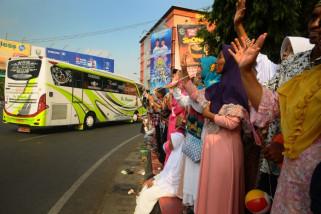 1.919 calon haji dari Semarang diberangkatkan