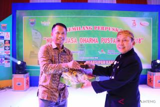 PLTU Batang diganjar penghargaan program peduli literasi