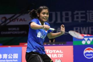Dikalahkan Tunggal putri China, Gregoria tersingkir dari Kejuaraan Dunia 2018