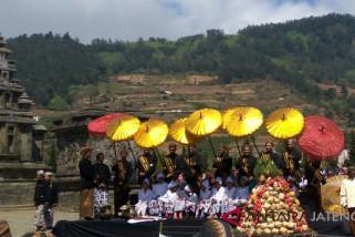 Sedot ribuan wisawatan,, Ganjar apresiasi Dieng Culture Festival