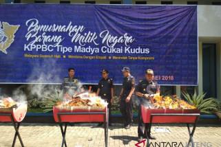 KPPBC Kudus Ungkap 48 Kasus Pelanggaran Cukai
