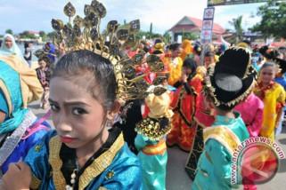 Sanggar rompong wakil Indonesia di Selangor Festival International