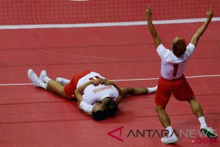 Sejarah baru, Sepak takraw putra Indonesia melaju ke final