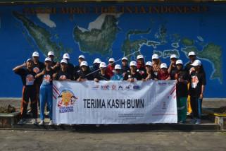 Siswa mengenal nusantara di Rindam IV/Diponegoro