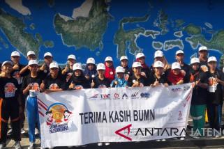 BUMN Hadir - Siswa Mengenal Nusantara asal Kalbar ikuti bela negara di Magelang