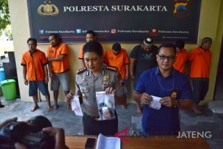 Polresta Surakarta periksa tujuh tersangka narkoba