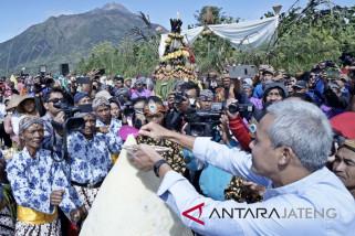 Awali panen, warga Merbabu ikuti Festival Tungguk Tembakau
