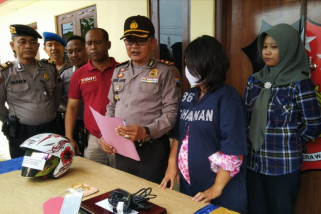 Polisi ringkus wanita hamil pelaku pencurian