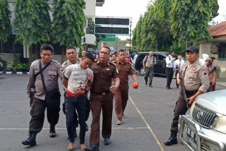 Tahanan ini disidang, sempat kabur, lalu ditangkap