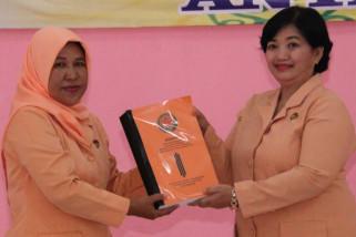 Jujuk Sumartono, ketua sementara DWP Kota Magelang