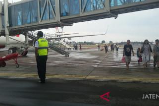 Jumlah penumpang melalui Bandara Adi Soemarmo turun