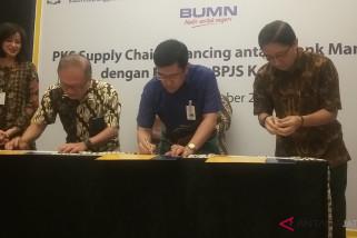 Bank Mandiri salurkan Rp126 miliar untuk mitra BPJS Kesehatan di Solo