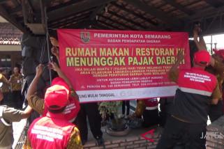 Menunggak pajak, dua restoran besar di Semarang diancam ditutup