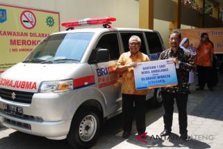 RS Brayat Minulya terima bantuan ambulans