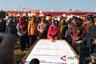 Pemprov dan KPU Jateng sosialisasikan kampenye pemilu damai