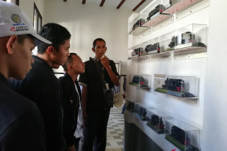 BUMN Hadir - SMN Kepri belajar sejarah kereta di Lawang Sewu