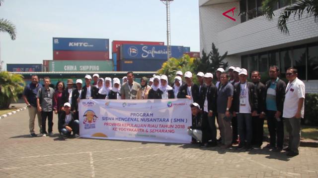 Video - SMN Kepri Kunjungi Pelindo 3 Semarang
