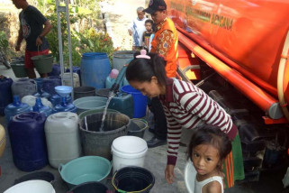 Pasokan air untuk daerah kekeringan di Cilacap dipastikan aman