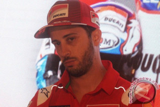 Klasemen sementara balapan MotoGP, Dovizioso geser Rossi