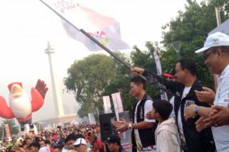 Ribuan peserta ikuti Parade Momo Asian Para Games 2018