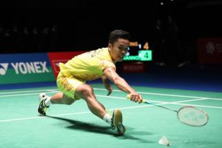 Ginting bikin kejutan kalahkan Lin Dan di China Terbuka