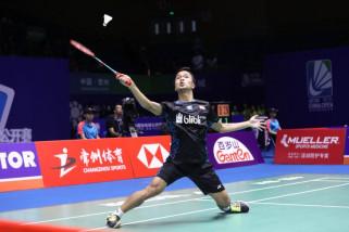 Kandaskan unggulan China, Ginting melaju ke Semi final