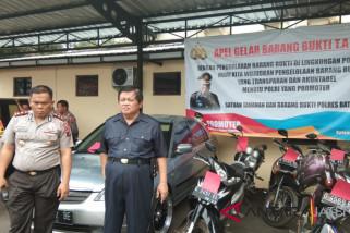 Polda Jateng periksa 47 kendaraan hasil kejahatan