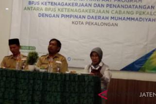 BPJS dan Muhammadiyah Kota Pekalongan teken kerja sama