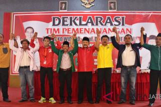 Parpol pengusung deklarasi tim pemenangan Jokowi- Ma'ruf