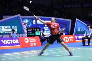 Kalah dari Jepang, Gregoria terhenti di perempat final China Terbuka