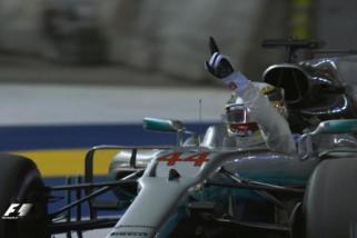 GP Singapura: Ujian Mercedes di trek Ferrari di Marina Bay