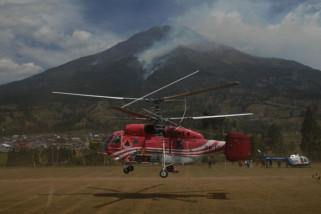 Operasi pemadaman kebakaran hutan gunung Sumbing