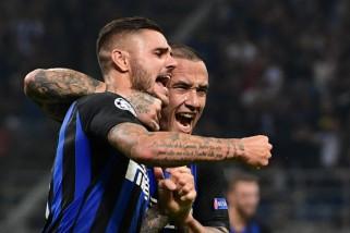 Sempat tertinggal, Inter berbalik bungkam Tottenham 2-1