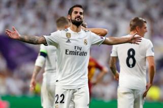 Real Madrid tanpa Isco saat hadapi Sevilla