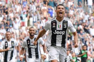 Hasil dan klasemen Liga Italia, Ronaldo cetak gol perdana
