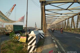 Antisipasi kemacetan akibat perbaikan Jembatan Tanggulangin, polisi siaga 24 jam