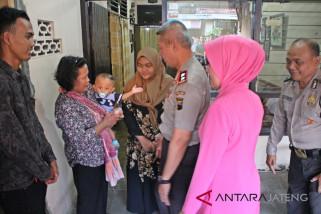 Kapolda Jateng kunjungi rumah istri Eko Prasetio