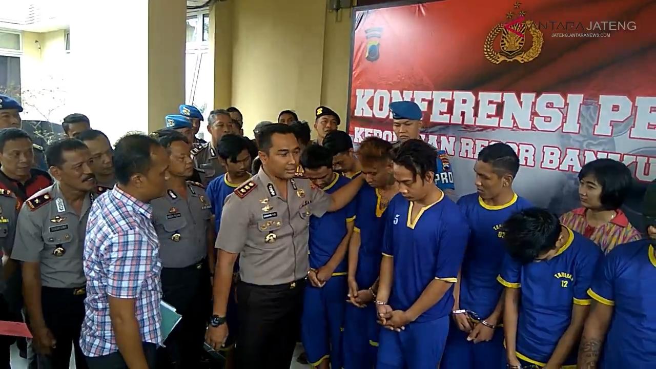 Video - Komplotan pencuri dibekuk Polisi di Purwokerto