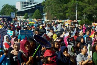 Masa kampanye, KPU dan Polres Banyumas ajak warga ciptakan suasana sejuk