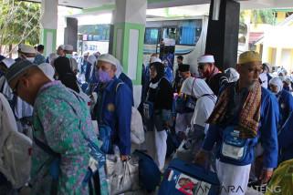 Debarkasi Surakarta telah pulangkan 80 persen jamaah haji