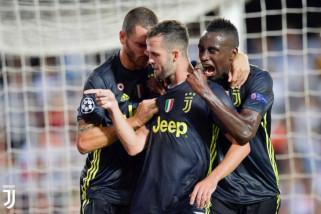 Ronaldo diganjar kartu merah, Juventus tetap menang atas Valencia