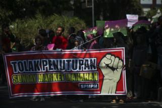 Unjuk rasa PKL