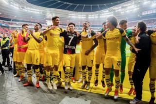 Hasil dan klasemen Liga Jerman, Dortmund geser Muenchen dari puncak klasemen