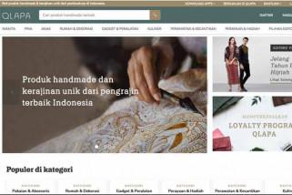 Qlapa, lapak online produk kerajinan UMKM Indonesia