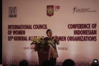 Menteri BUMN paparkan kiprah perempuan Indonesia di Sidang ICW