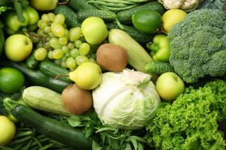 Ini manfaat sayuran dan buah berwarna hijau